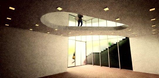 Vista verso ingresso del primo piano