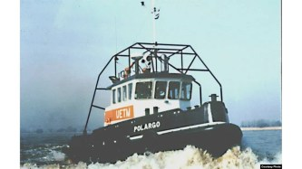 El remolcador Polargo 5, que embistió por la popa y hundió al remolcador 13 de marzo (Cuba al Descubierto).