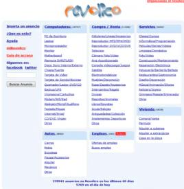 Página web revolico.com.