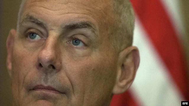 El jefe del Comando Sur de EEUU, el general John Kelly. EFE