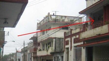 Casa de Marino Rivero en la calle San Miguel en Santa Clara.