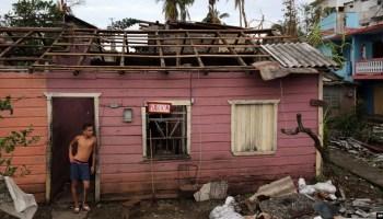 Casa afectada por el paso del huracán Matthew. (Archivo)