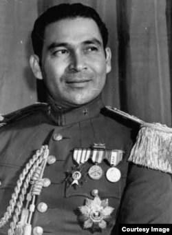Retrato de Fulgencio Batista.