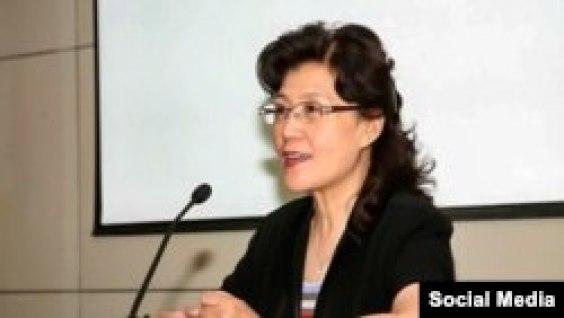 Cai Xia, profesora de la Escuela Central del PCCh.
