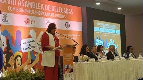 El foro de este año de la CIM se focaliza en la autonomía de las mujeres en la toma de decisiones políticas.