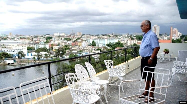 Negocio de renta habitaciones a turistas en La Habana.