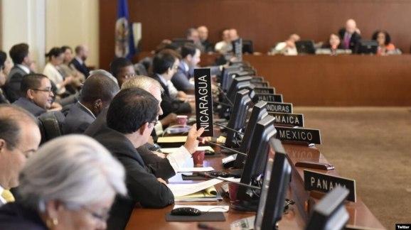 El Consejo Permanente de la OEA evaluará la situación en Nicaragua.