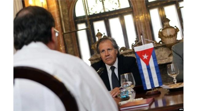 Cuando Almagro era bienvenido en Cuba