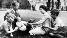 Британская королевская семья, фото 1960 года