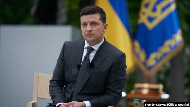 Президент Володимир Зеленський під час пресконференції