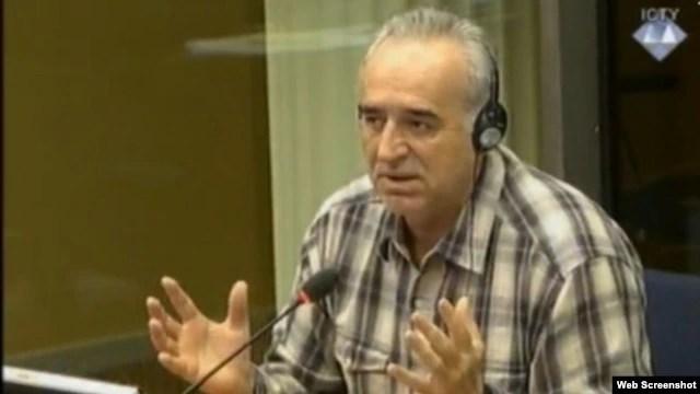 Momir Nikolić na suđenju Ratku Mladiću, 5. lipanj 2013.