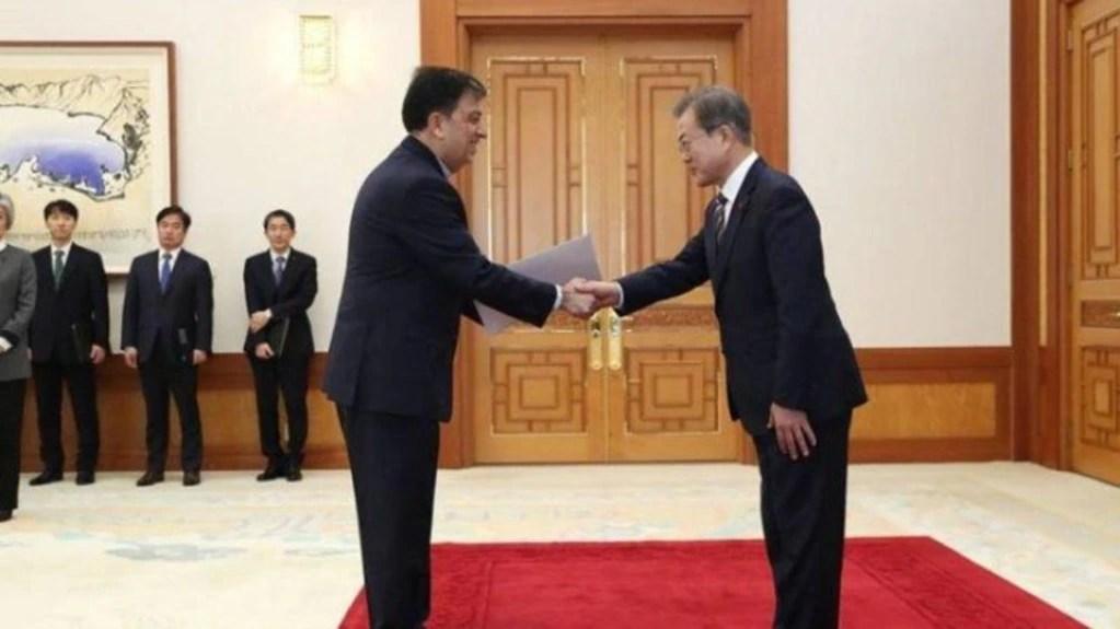 کره جنوبی به دلیل تهدید ایران سفیر تهران را احضاركرد