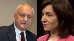 На майбутніх виборах головною опоненткою чинного президента Молдови Ігоря Додона стане колишня прем'єрка країни Мая Санду