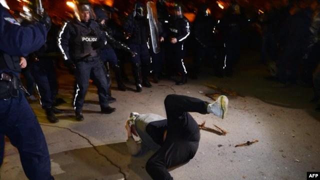Sukobi sa policijom u Sofiji