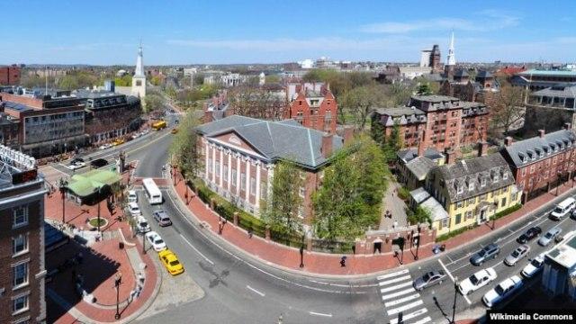АКШдагы атактуу Гарвард университети.