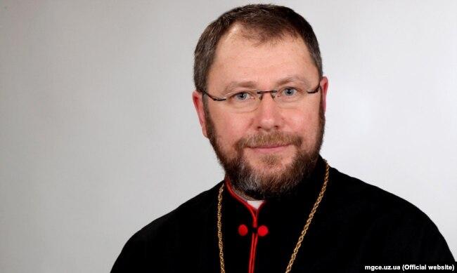 Мукачівський єпископ Ніл Лущак, викладач Ужгородської греко-католицької богословської академії імені Блаженного Теодора Ромжі