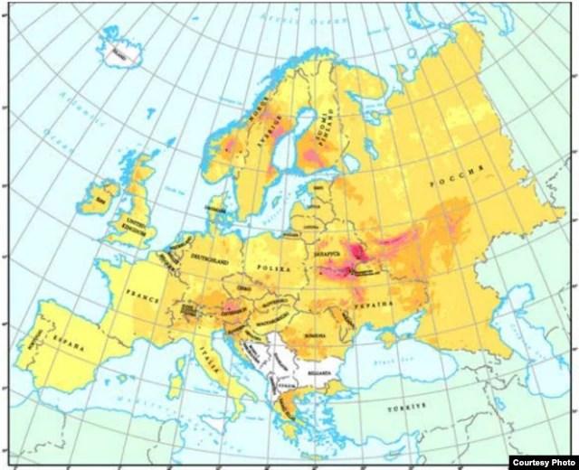 Беларусь уасяродку радыяцыйнага забруджаньня