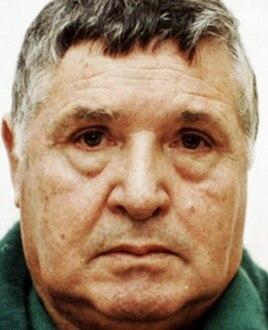 """Сальваторе (Тото) Риина, """"босс боссов"""" сицилийской мафии, вскоре после ареста (1993)"""