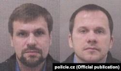 Снимките на Чепига и Мишкин, разпространени от чешката полиция