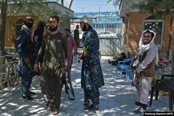 Талибы на улицах Кабула. 17 сентября 2021 года