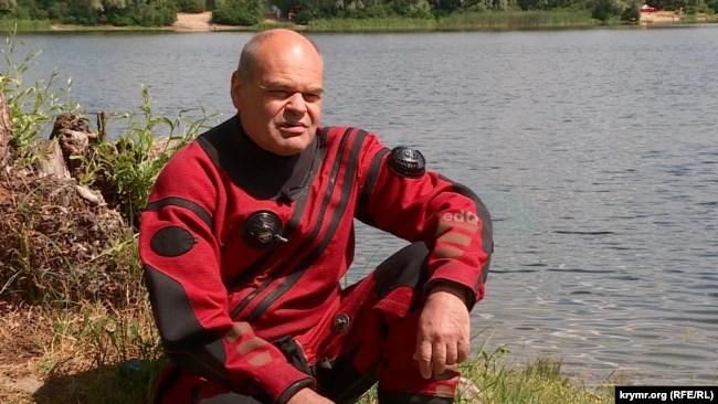 Ігор Андерсон, член водолазної групи