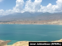 The Toktogul reservoir (file photo)