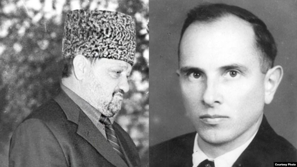 Ахмат Кадыров (л) и Степан Бандера (п), коллаж