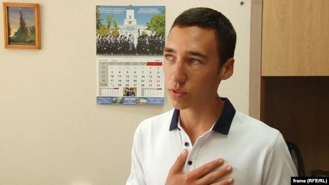 Микола, абітурієнт з Криму