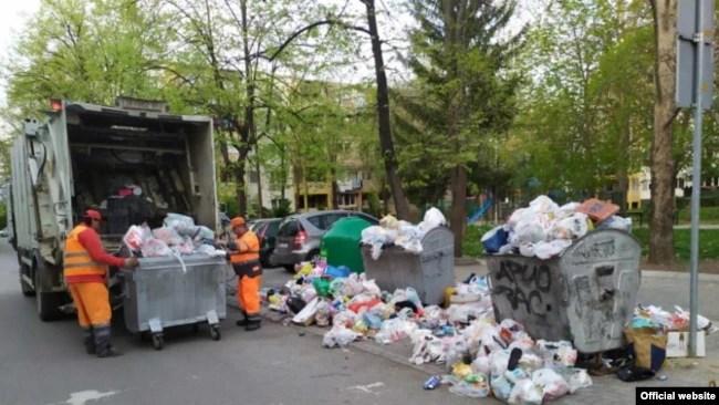 """ЈП Комунална хигиена-Скопје"""" собира и транспортира комуналeн отпад во Скопје."""