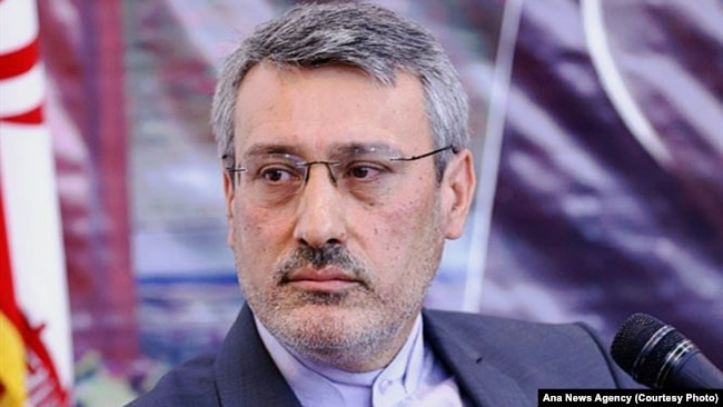 Hamid Baeidinejad, an Iranian top diplomat who serves as ambassador to the United Kingdom, was a member of nuclear negotiation team. April 13, 2015.