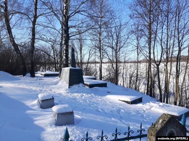 Мэмарыял на габрэйскіх могілках у Шклове