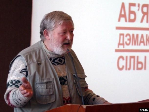 Юры Хадыка, фота 2009 году