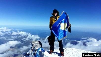 Arineta Mula në Malin Elbrus