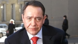 Mikhail Lesin in 2002. The former Russian press minister was found dead in a Washington hotel room in 2015.
