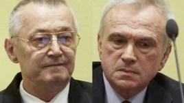 Stanišić i Simatović u sudnici 30. svibnja 2013.