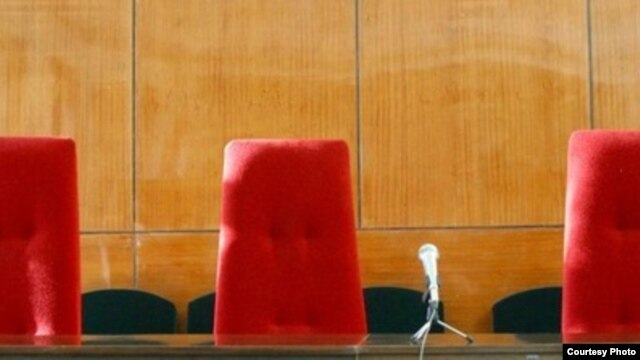 Tajikistan -- Court chairs, generic