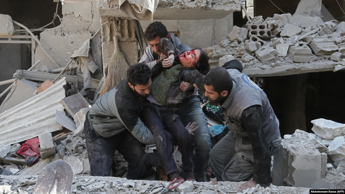 Russia Iran Urged To Press Syria To End Massacre In Ghouta
