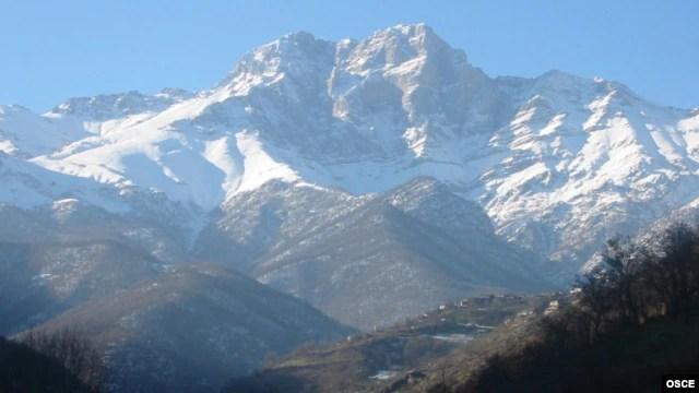 Armenia - A mountain in Syunik province.