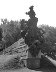 Памятник розстріляним у Бабиному Яру