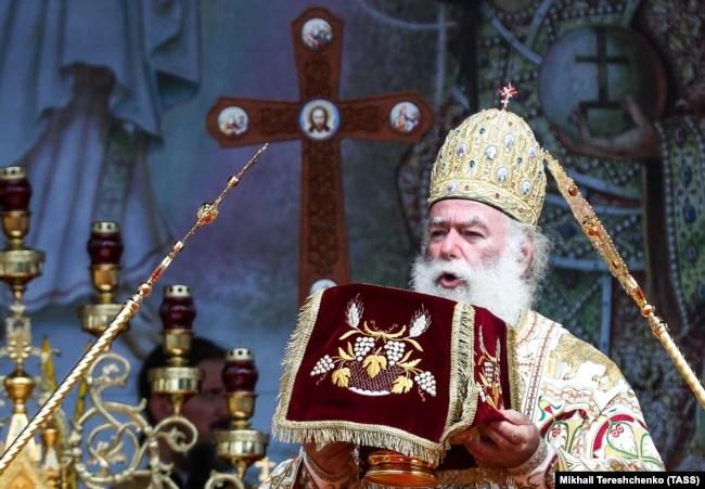 Патріарх Олександрійський і всієї Африки Феодор Другий (архівне фото)