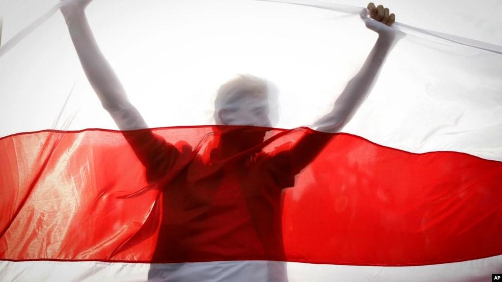 Fotografi ilustruse: Flamuri i Bjellorusisë