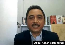 Direktur Pemberitaan Medcom.id Abdul Kohar. (Foto: screengrab)