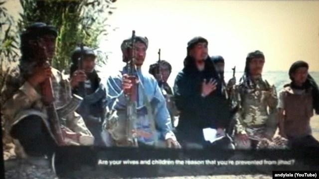 Video propaganda sebuah grup Indonesia mengundang untuk bergabung dengan ISIS.
