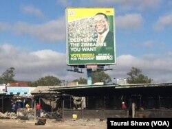 Demolished stalls in Gweru.