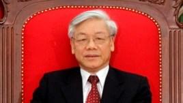 Ông Nguyễn Phú Trọng nói: Việt Nam chủ trương đấu tranh 'toàn diện' với tinh thần 'bình tĩnh', 'kiềm chế', 'không để xảy ra xung đột' và 'không để nội bộ rối ren'.