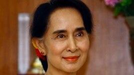 Bà Aung San Suu Kyi được tự do vào tháng 11 năm 2010.