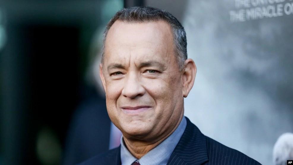 Diễn viên Tom Hanks, một trong những người được nhận Huân chương Tự do.