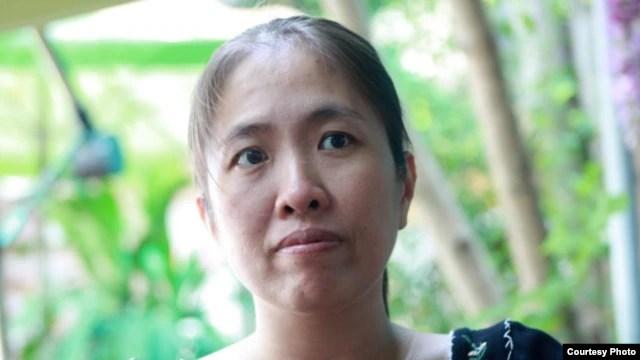 Blogger Mẹ Nấm - Nguyễn Ngọc Như Quỳnh, một trong những thành viên sáng lập Mạng lưới Blogger Việt Nam