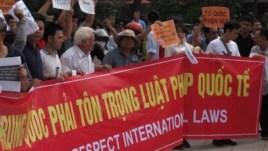 Biểu tình chống Trung Quốc tại Việt Nam, tháng 5, 2014.