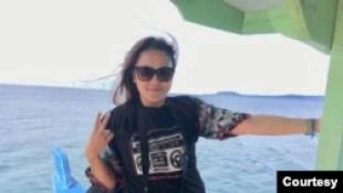 General Manager Visi Radio Medan, Wisdawati Margaret. (Dokumentasi pribadi)